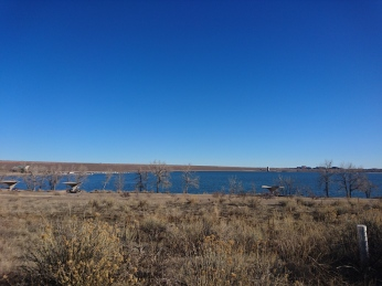 Cherry Creek Reservoir.