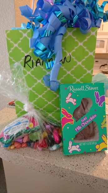 Gifts from Easter Bunny